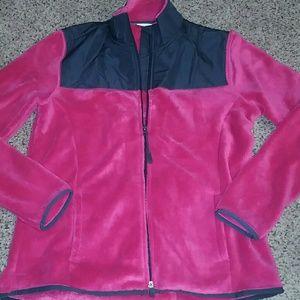 Danskin now women's fleece zip up